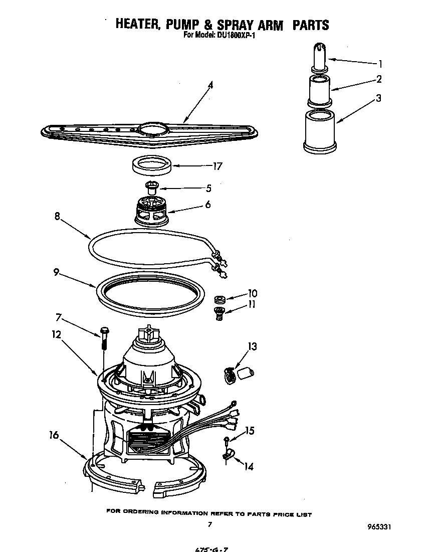 Whirlpool Parts: Whirlpool Dishwasher Parts List