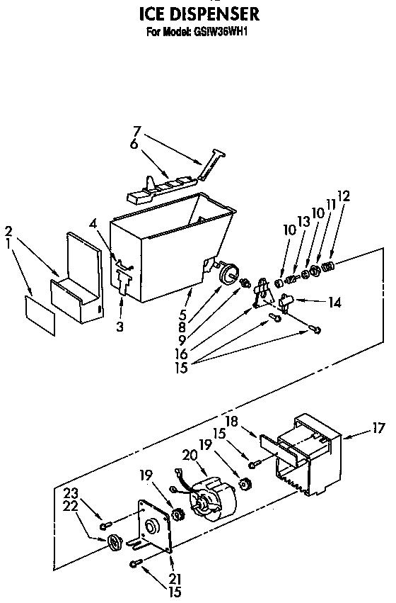Refrigerators Parts: Roper Refrigerator Parts