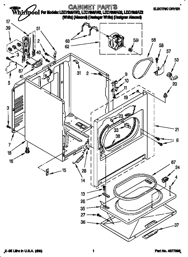 Dryer Schematic Whirlpool