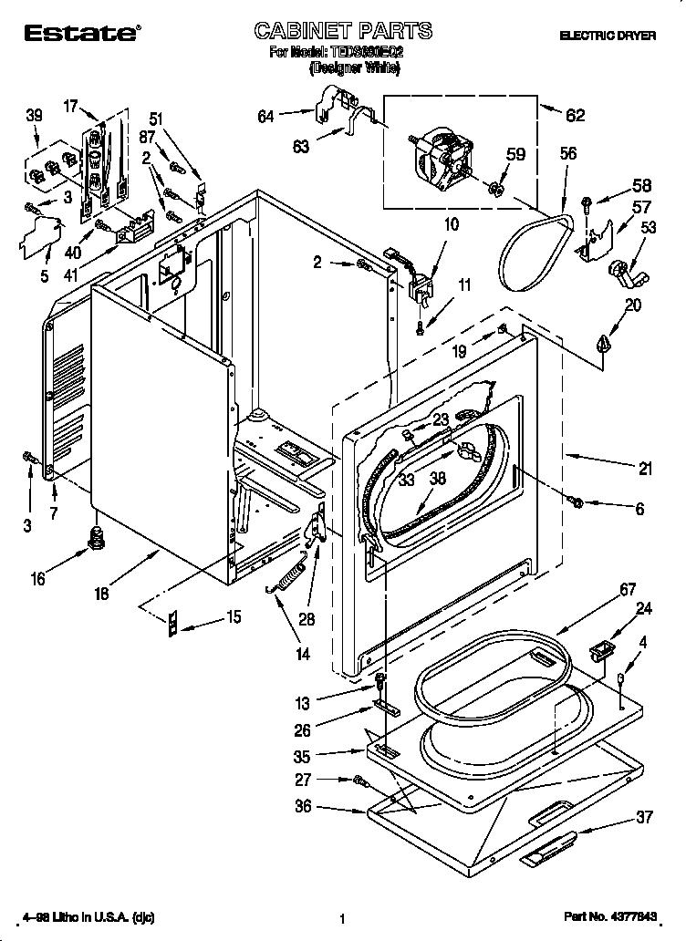 Whirlpool Dryer Heating Element Wire Diagram Samsung Dryer
