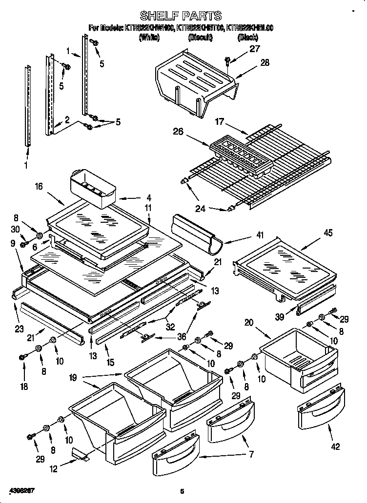 Kitchenaid Superba: Kitchenaid Superba Refrigerator Parts