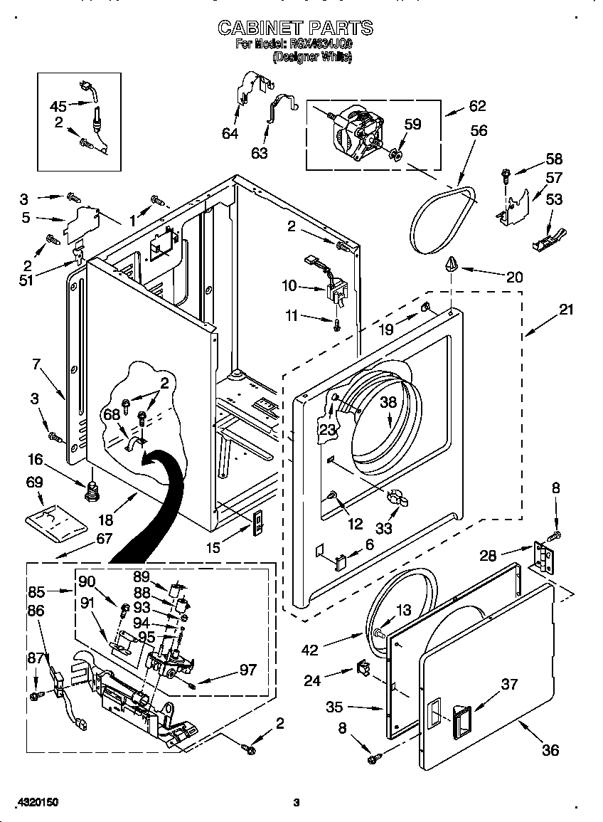 KENMORE DRYER WIRING DIAGRAM 41797912701 - Auto Electrical ... on