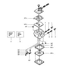 craftsman chainsaw carburetor assembly kit 530069703 parts [ 1733 x 2229 Pixel ]