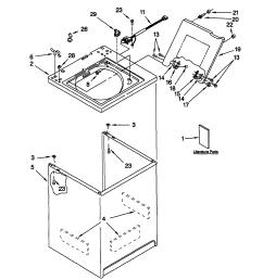 kenmore 80 series washing machine wiring diagram [ 1719 x 2218 Pixel ]