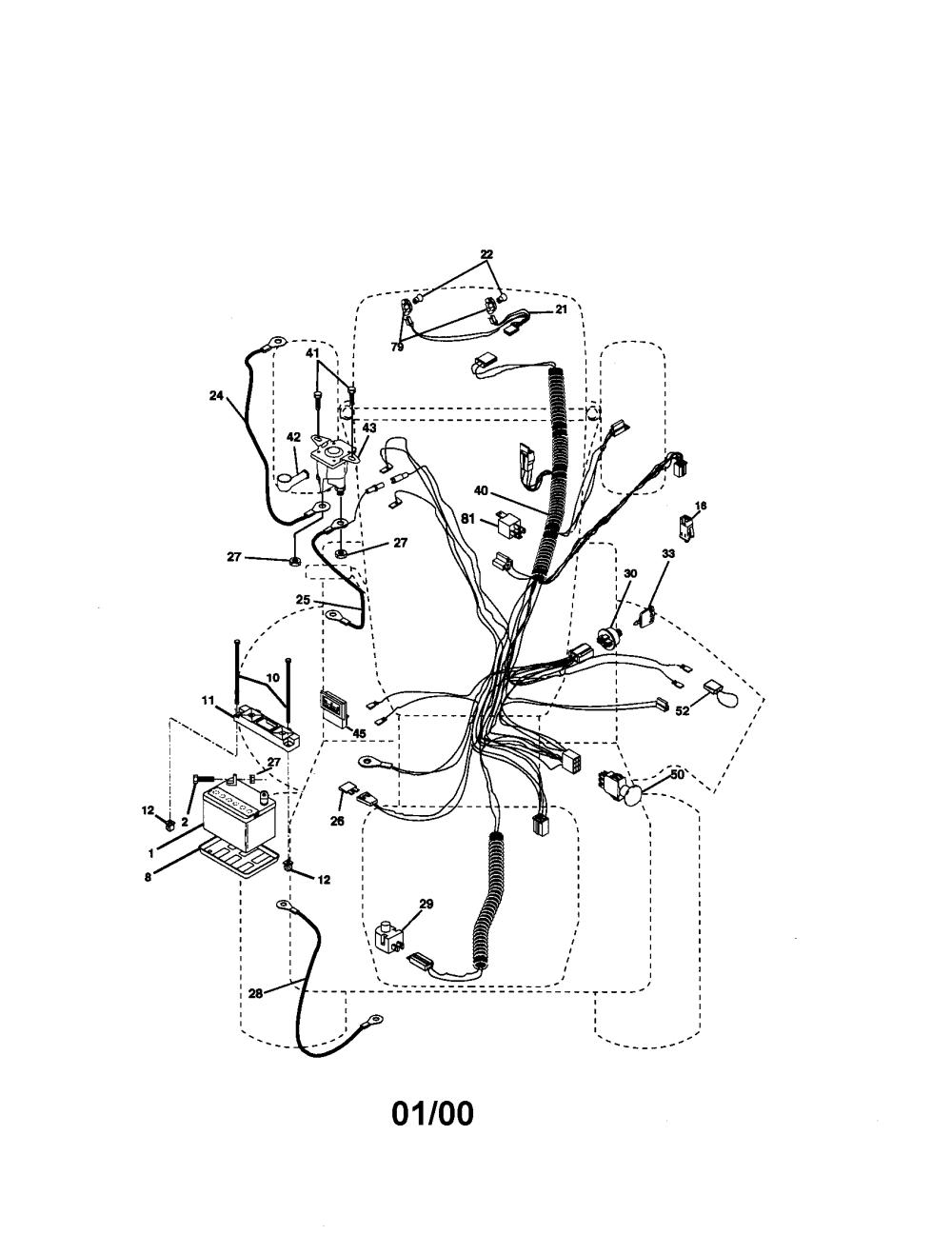 medium resolution of craftsman 917272950 electrical diagram