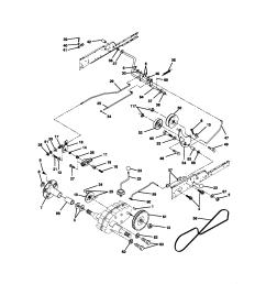 craftsman 917272950 ground drive diagram [ 1696 x 2200 Pixel ]