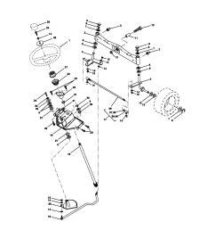craftsman 917272950 steering assembly diagram [ 1696 x 2200 Pixel ]