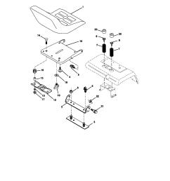 craftsman 917272950 seat assembly diagram [ 1696 x 2200 Pixel ]