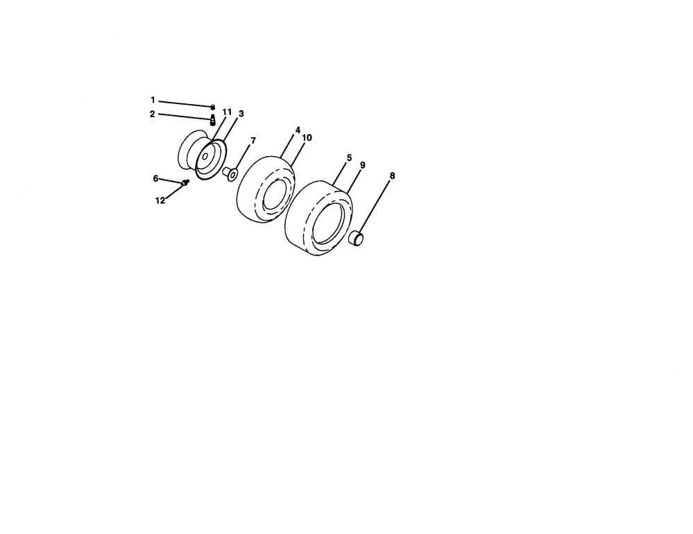 medium resolution of craftsman 917272950 wheels and tires diagram