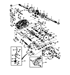 craftsman 917272950 transaxle diagram [ 1696 x 2200 Pixel ]