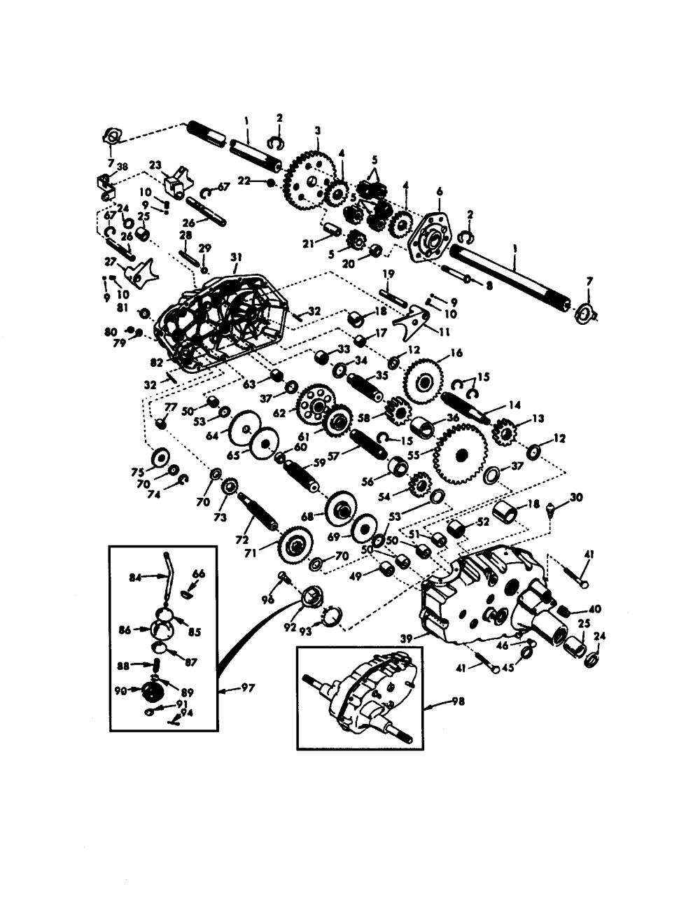 medium resolution of craftsman 917272950 transaxle diagram