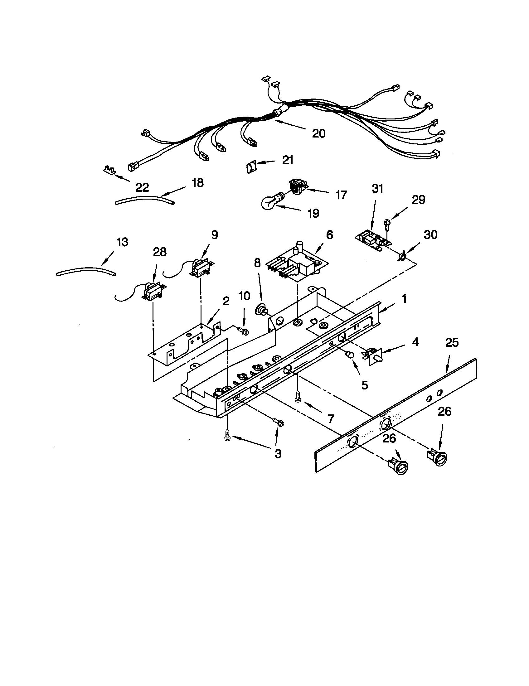appliance wire harness