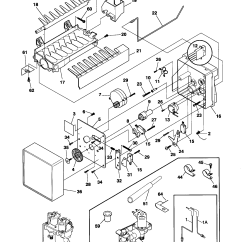 Frigidaire Gallery Refrigerator Parts Diagram Dodge Neon Alternator Wiring Side By Door Shelf Bin