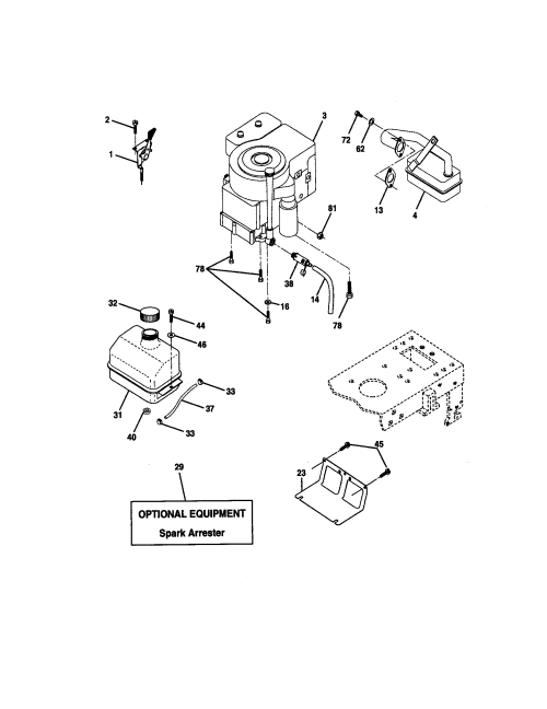 small resolution of craftsman 917271630 engine diagram