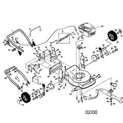 Craftsman Lawn Tractor Parts Diagram 2000 Bmw 328i Engine Model 917270810 Sears Partsdirect