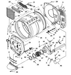 frigidaire dryer parts diagram on kenmore 400 gas dryer parts diagram [ 1696 x 2200 Pixel ]