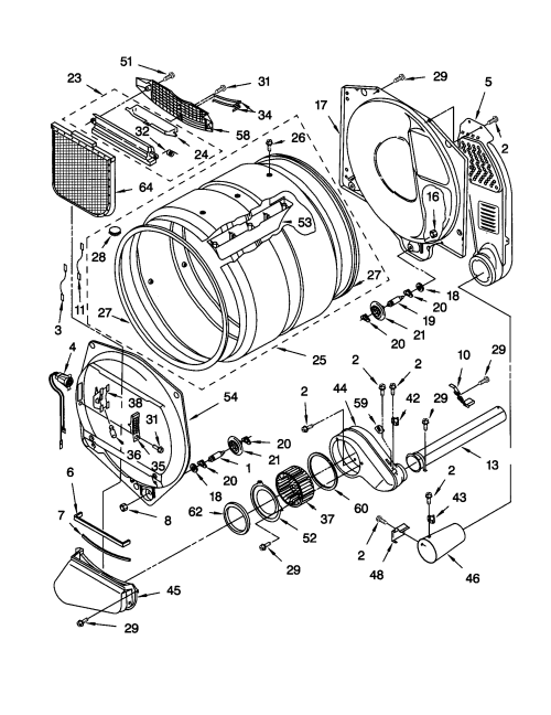 small resolution of frigidaire dryer parts diagram on kenmore 400 gas dryer parts diagram