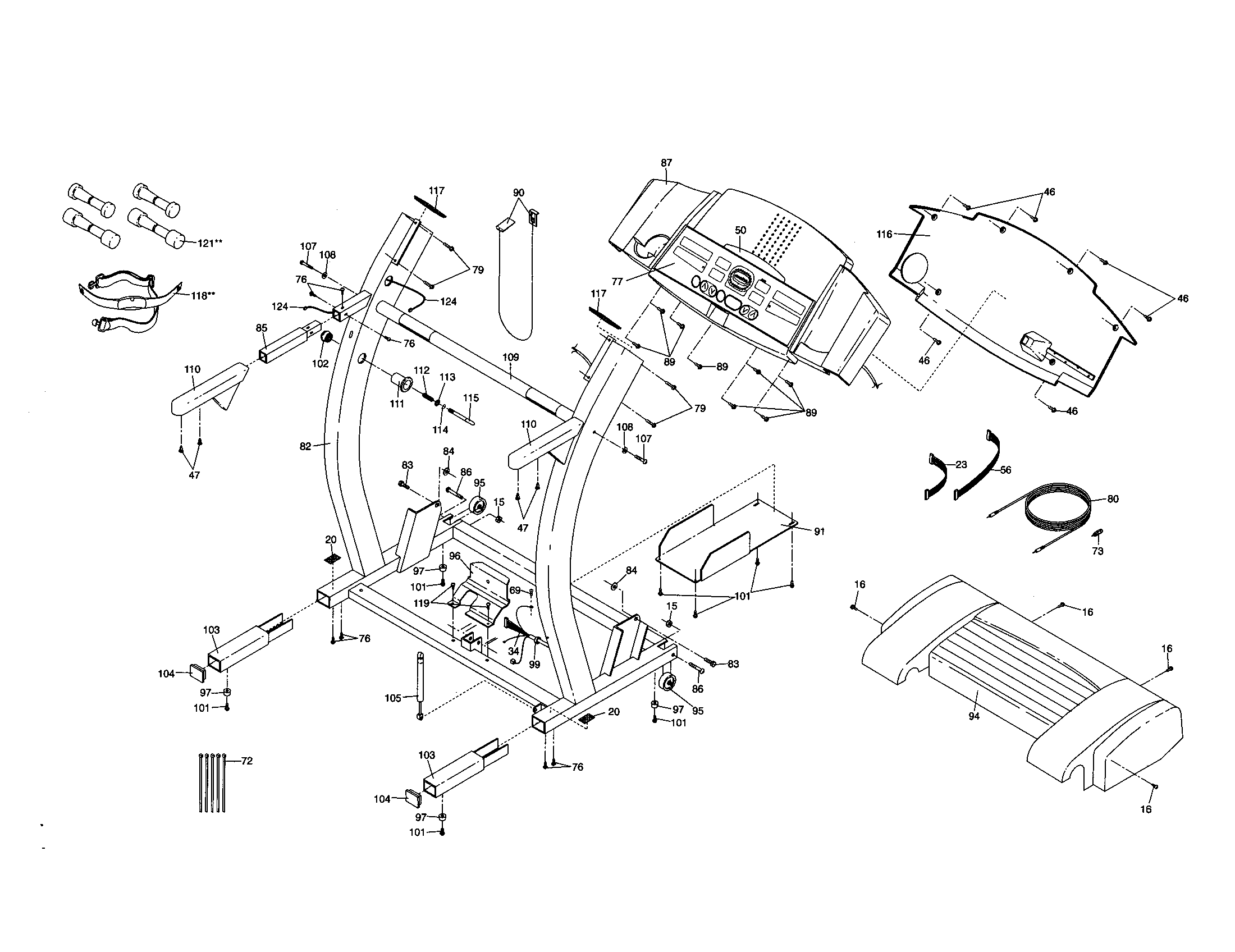 CONSOLE BASE Diagram & Parts List for Model 831299270