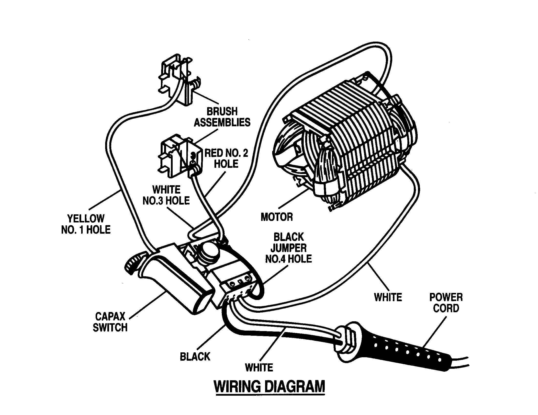 Wiring Diagram For Power Tool