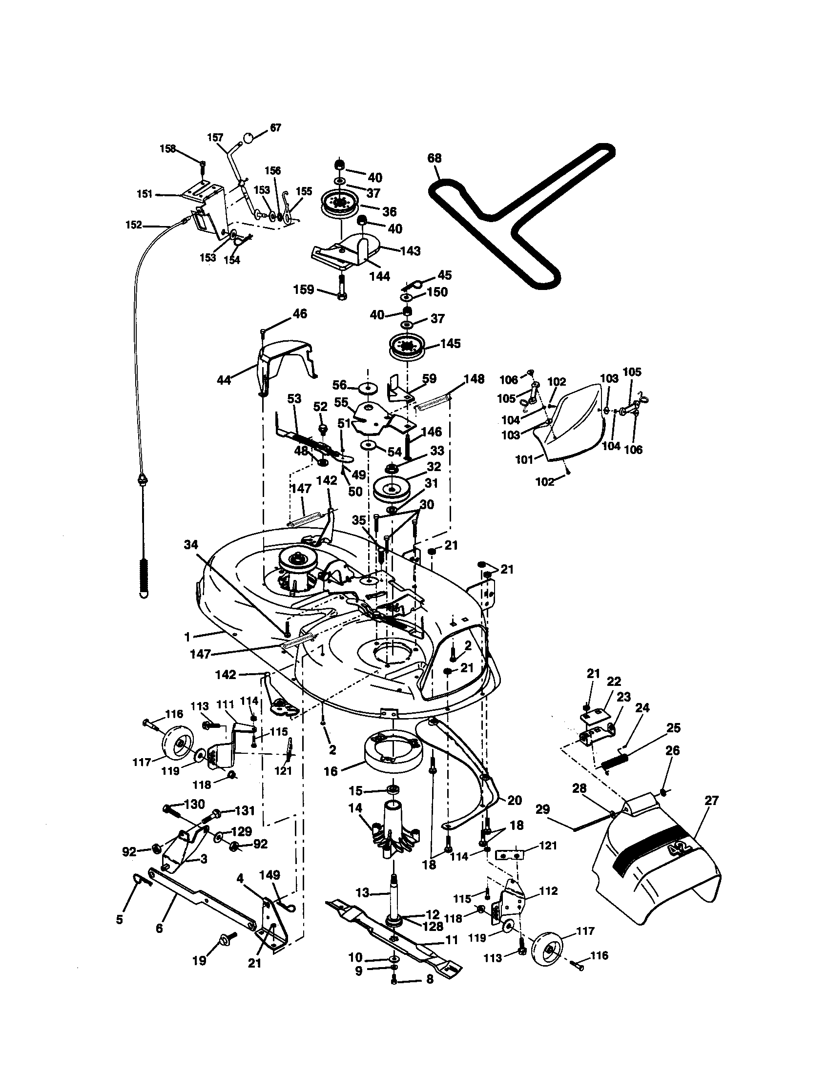 917270760 Craftsman Wiring Diagram Model : 40 Wiring