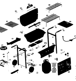 weber performer parts diagram [ 2200 x 1696 Pixel ]