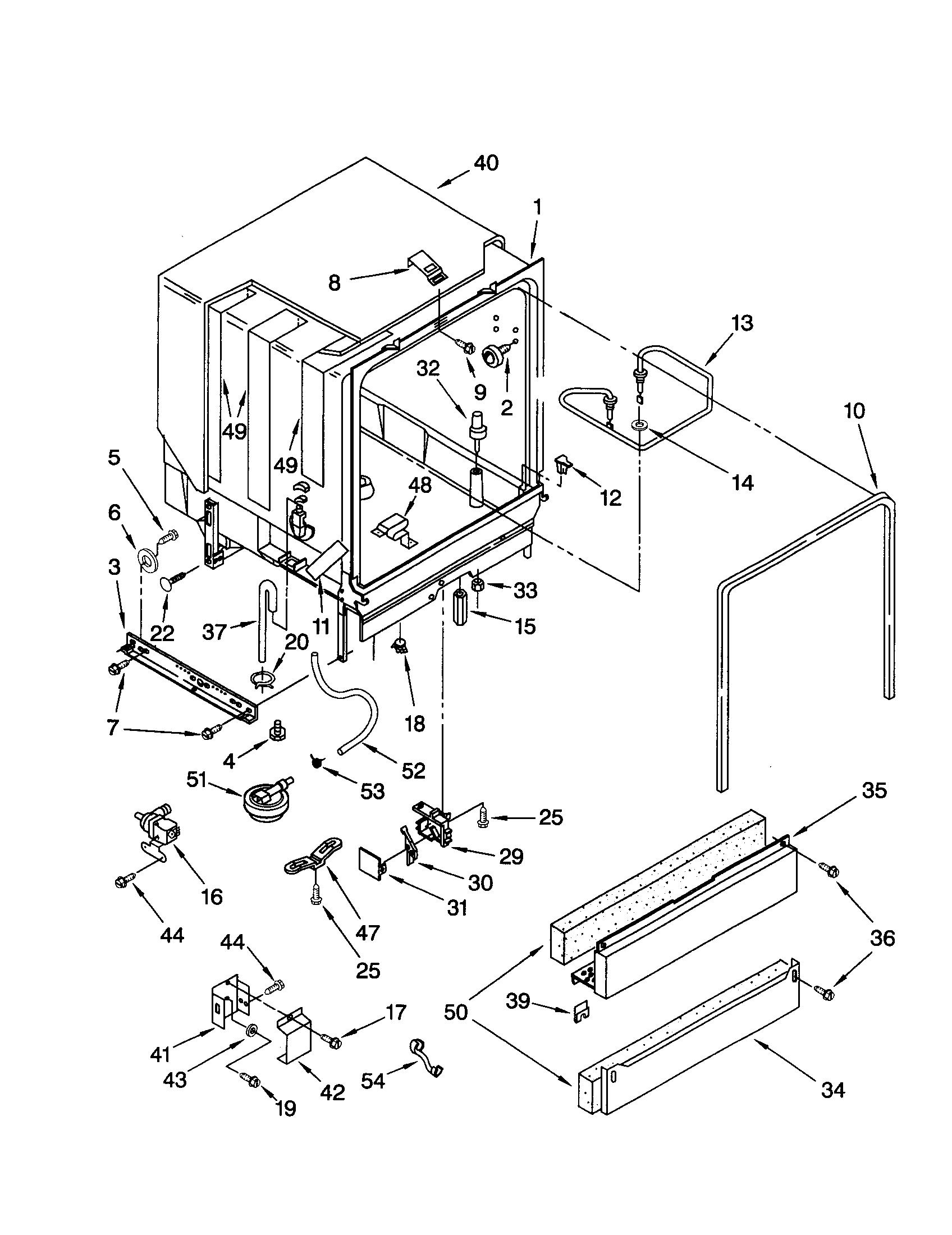 Kenmore Ultra Wash Dishwasher Schematic Basic Guide Wiring