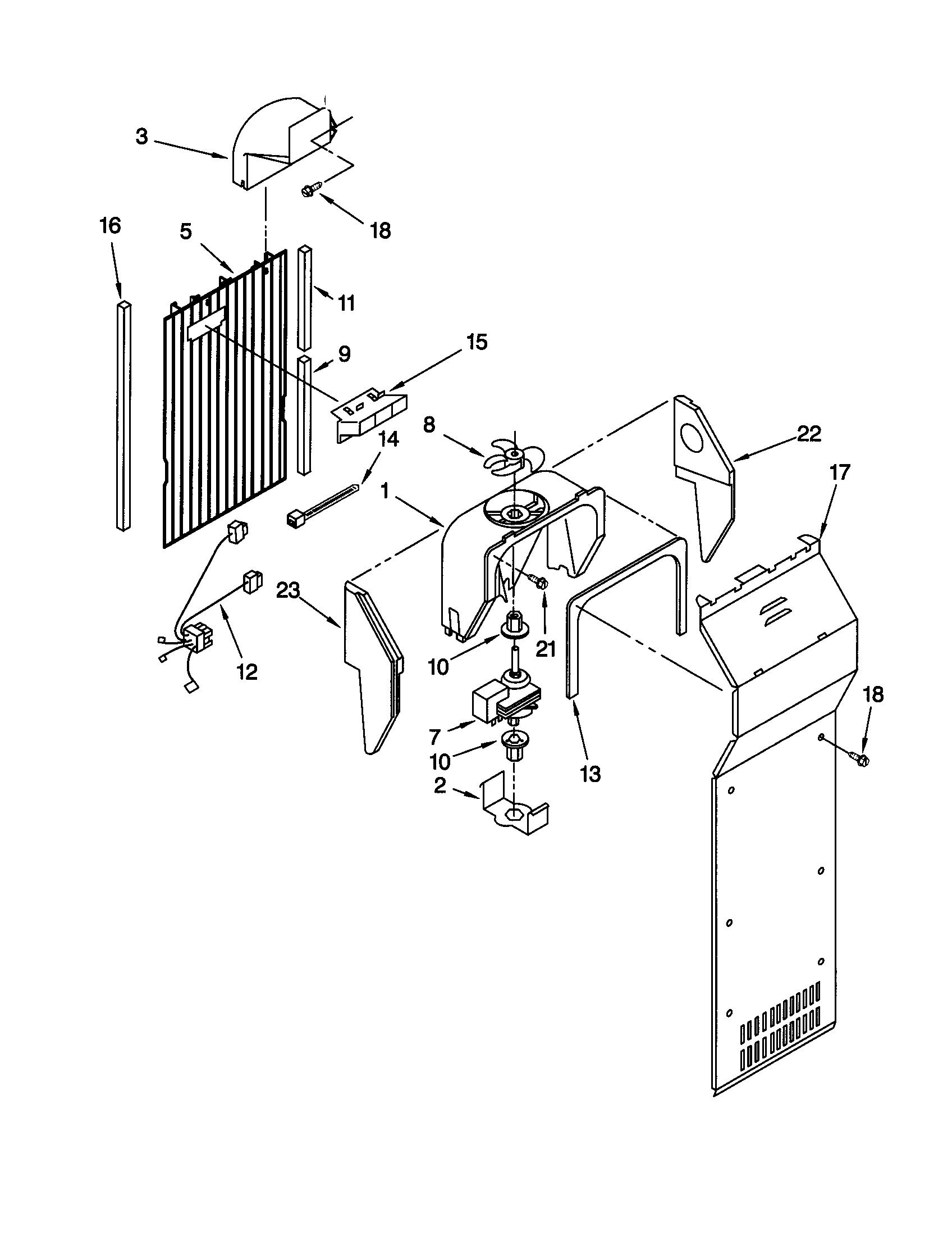 hight resolution of  wrg 1887 kenmore coldspot refrigerator wiring diagram