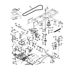 craftsman 917270671 ground drive diagram [ 1696 x 2200 Pixel ]