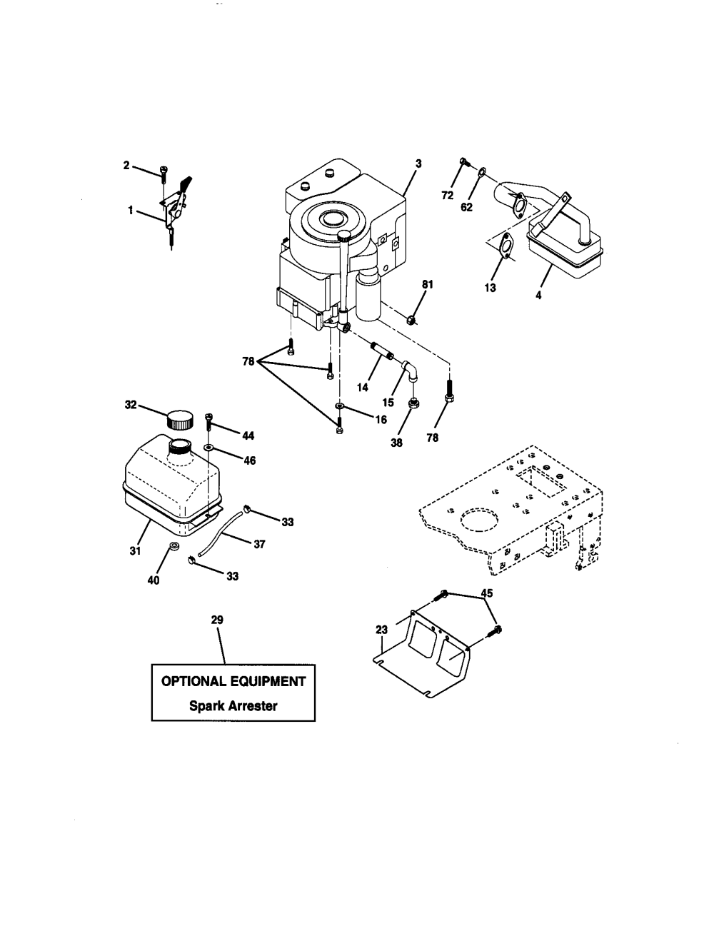 medium resolution of craftsman 917270671 engine diagram