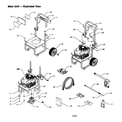 Craftsman Pressure Washer Pump Parts Diagram 2003 Saab 9 3 Stereo Wiring Model 580768332 Sears