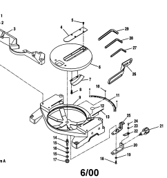 looking for craftsman model 315212110 miter saw repair replacement parts  [ 2200 x 1696 Pixel ]