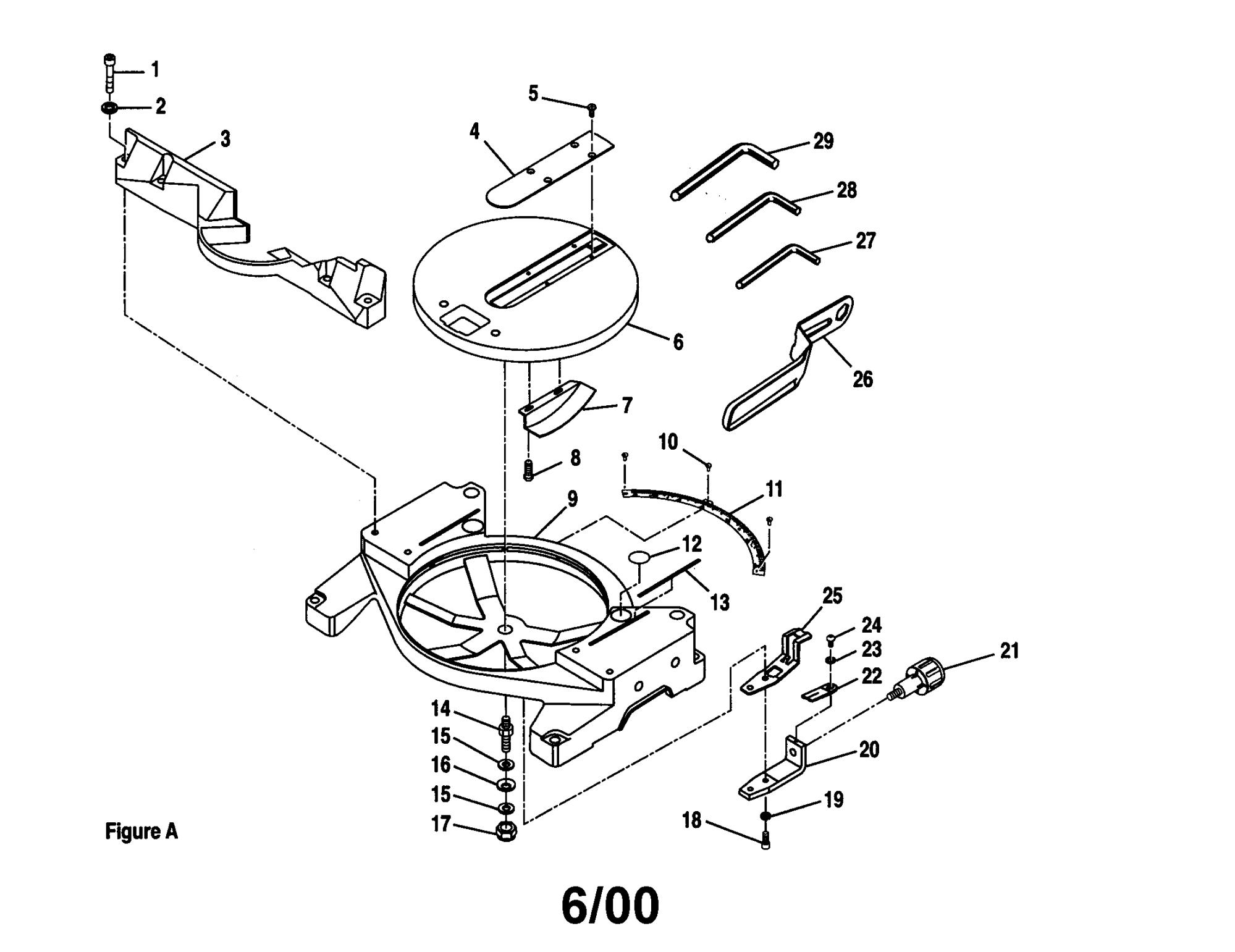 hight resolution of craftsman 10 u0026quot compound miter saw parts