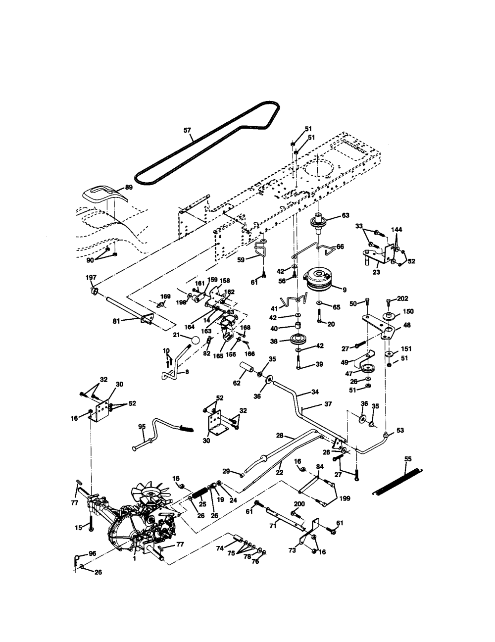 medium resolution of craftsman 917272220 ground drive diagram