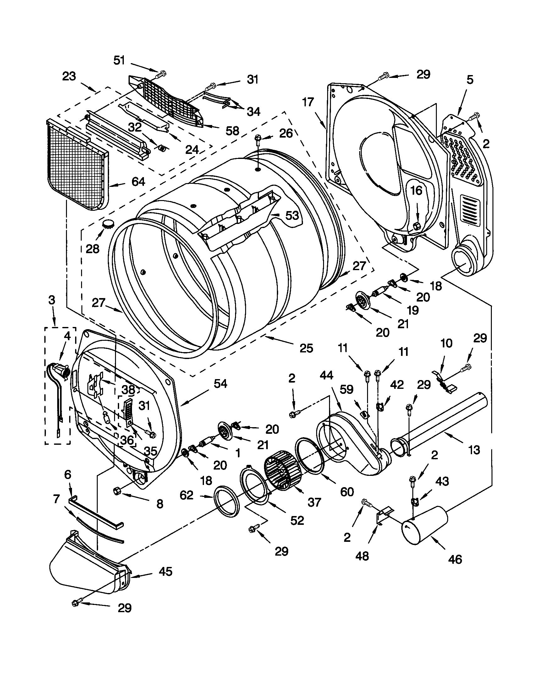 Kenmore Dryer Model 110 Wiring Diagram Collection