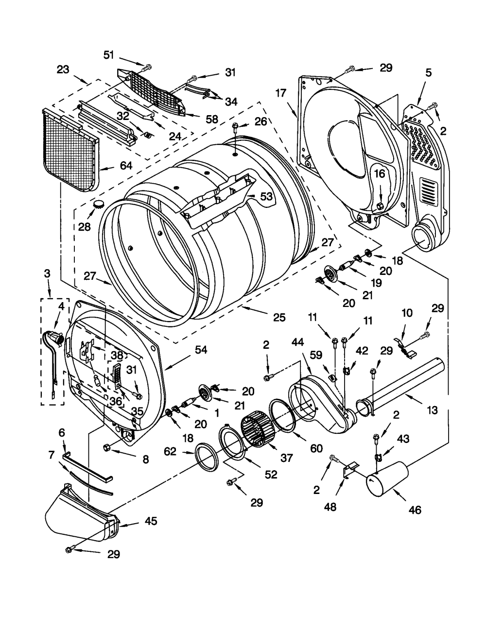 medium resolution of kenmore elite he4 dryer wiring diagram trusted wiring diagram kenmore 110 washer diagram kenmore dryer model