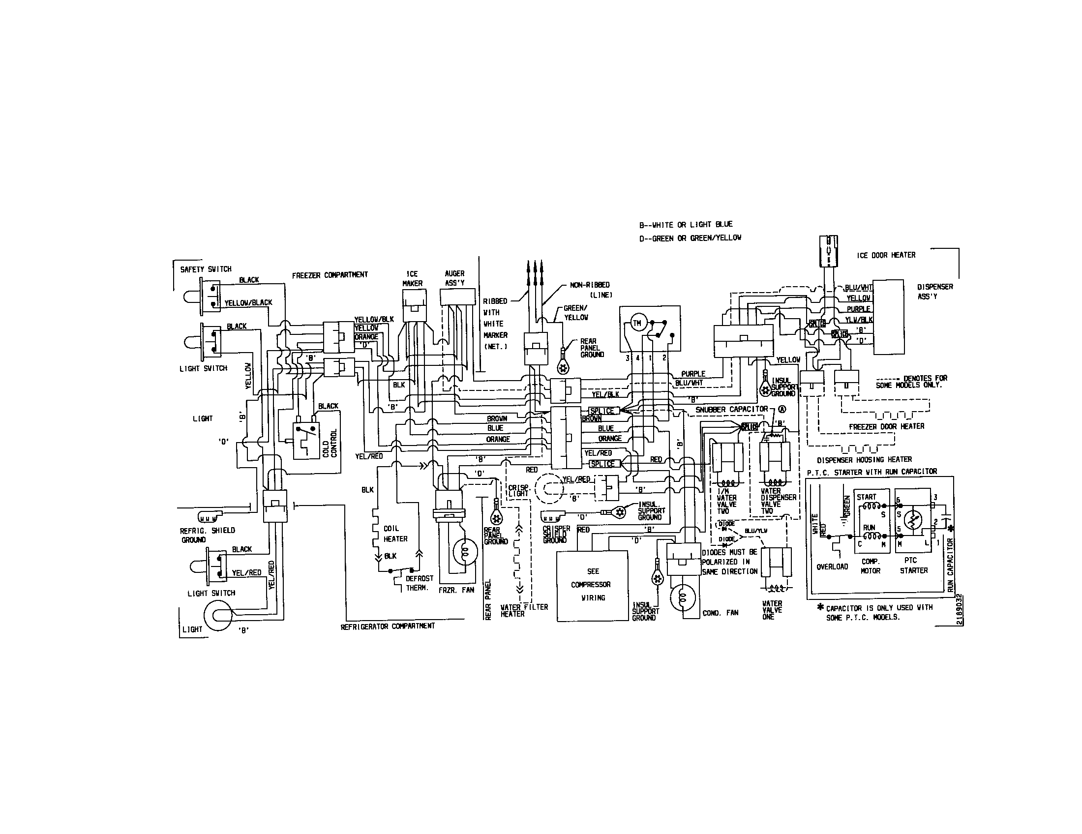 what is: wiring diagram for Kenmore refrigerator 363.59572990