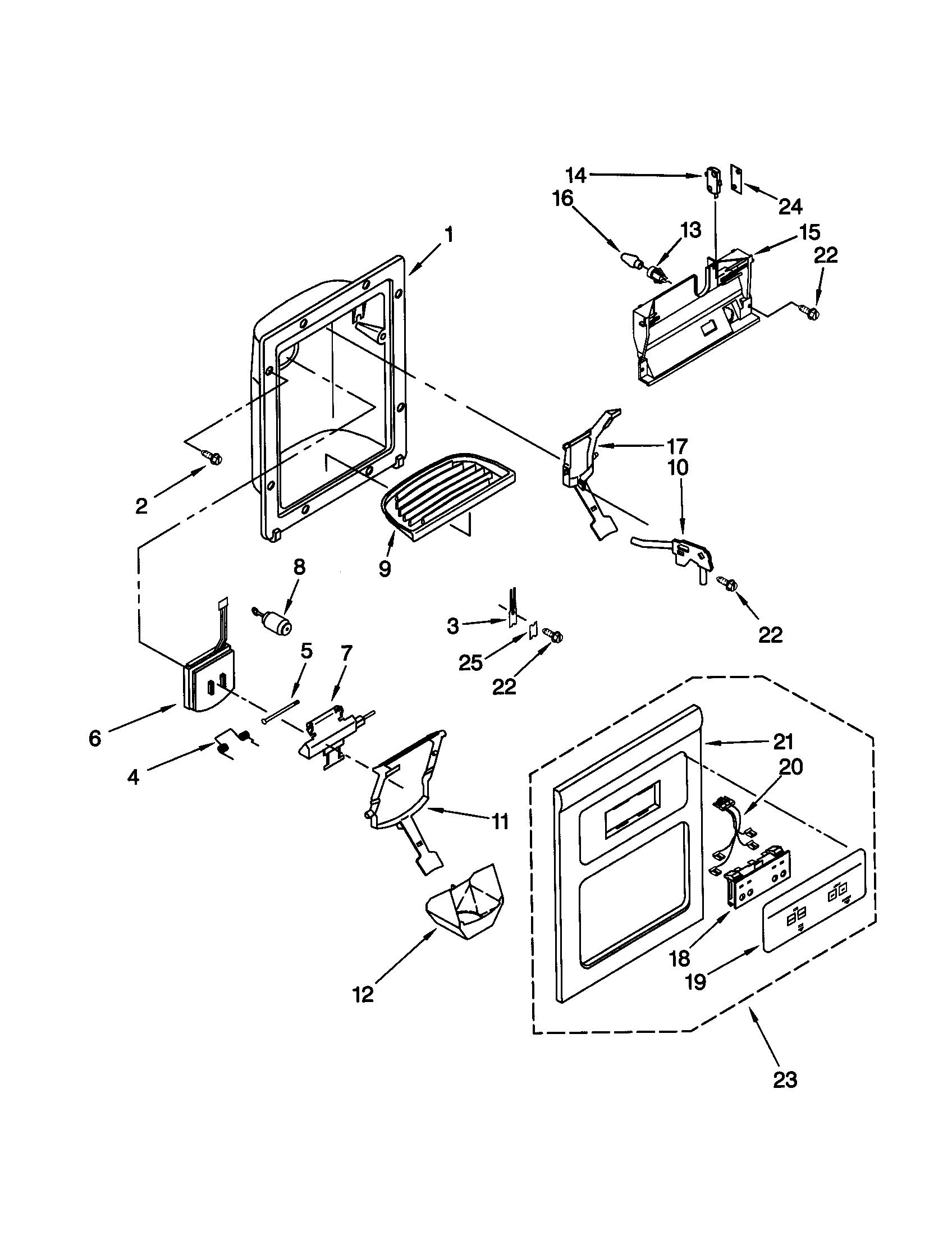 Kenmore Coldspot Model 106 Refrigerator Parts