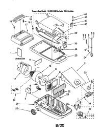 kenmore vacuum wiring diagram | kenmore 600 series vacuum     on kenmore  canister