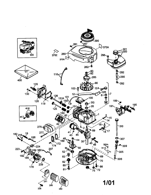 small resolution of craftsman 143016706 4 cycle engine diagram