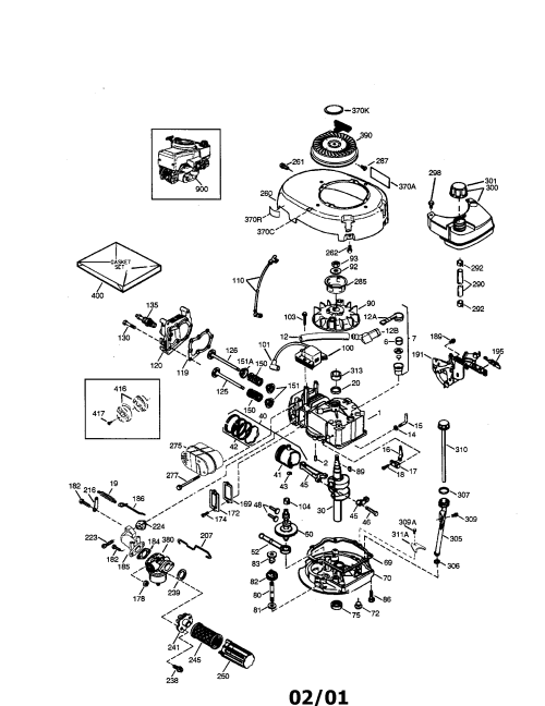 small resolution of tecumseh lev115 360033d 4 cycle engine diagram