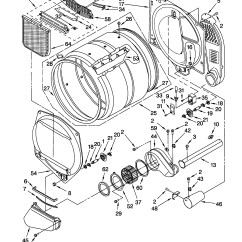 Kenmore Electric Dryer Parts Diagram Code Alarm Ca 2051 Wiring Model 110 Get Free Image About