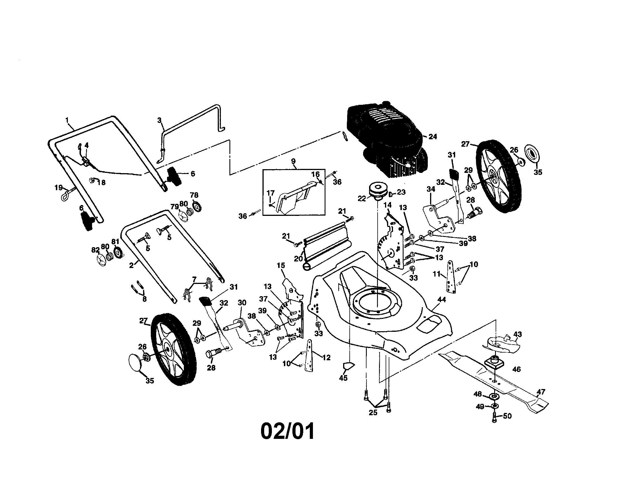 craftsman lawn tractor parts diagram snail external mower riding and
