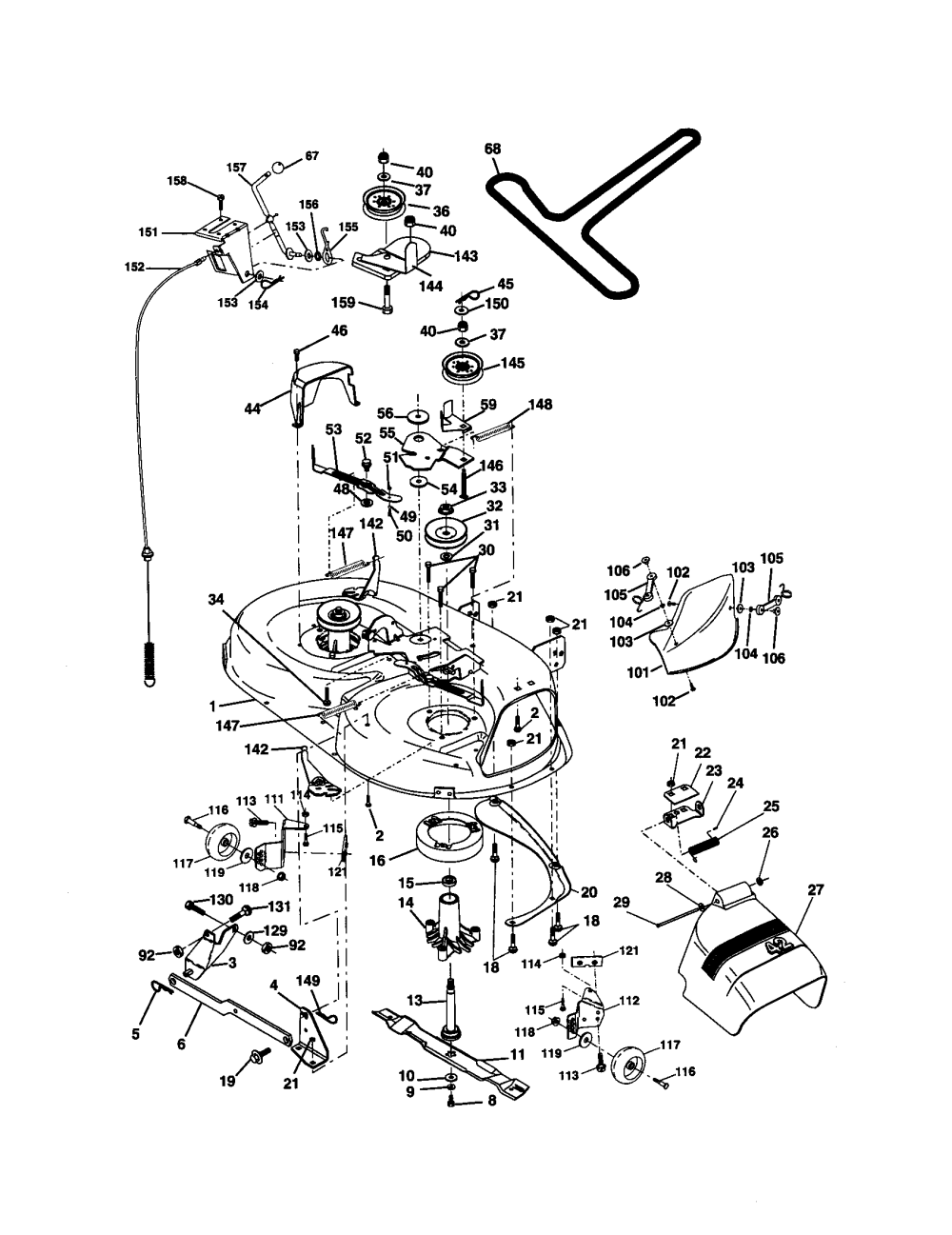 medium resolution of wiring diagram craftsman model 917 275671