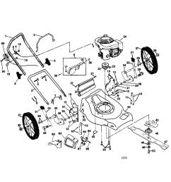 poulan pr55hy21ca rotary lawn mower diagram [ 2200 x 1696 Pixel ]
