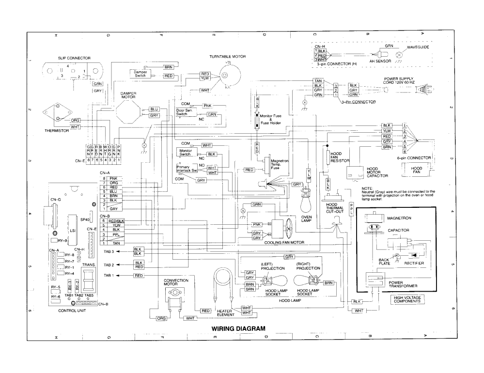 medium resolution of ge spacemaker microwave wiring diagram wiring diagramsge oven schematic diagram manual e book ge spacemaker microwave