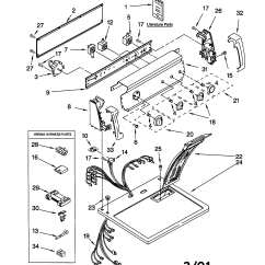 Sears Model 110 Parts Diagram Mitsubishi Canter Wiring Kenmore Dryer 62852100 Partsdirect