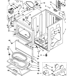 kenmore 11062912100 cabinet diagram [ 1696 x 2200 Pixel ]