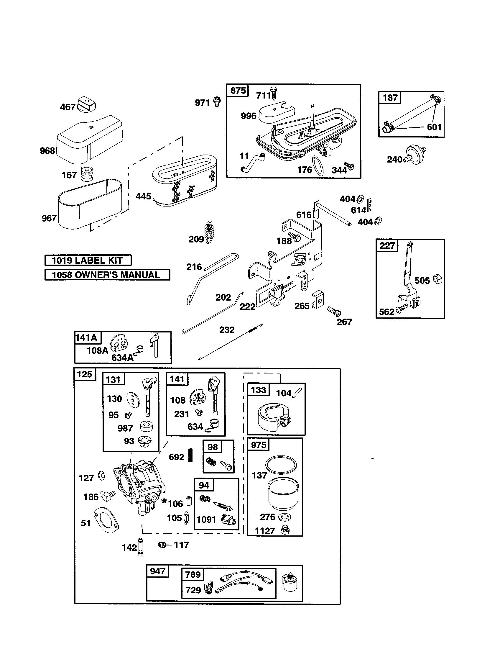 Briggs and stratton engine model 287707 wiring diagram wiring