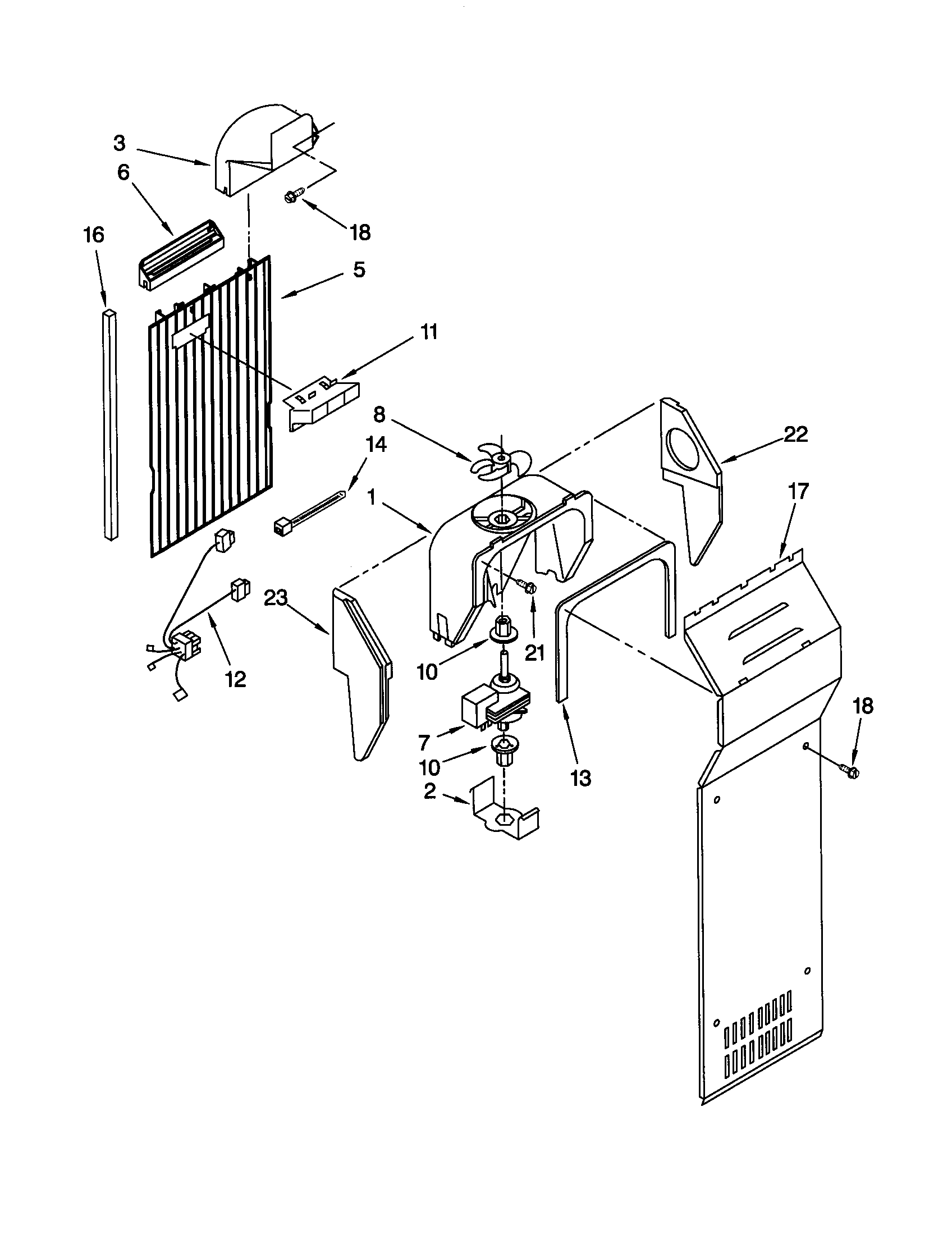 Images of ice maker for kenmore side by side refrigerator
