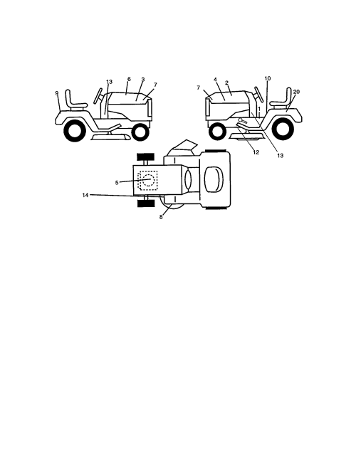 small resolution of craftsman riding mower wiring schematic